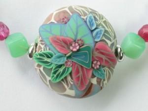 Cherylsart: Polymer Clay Pendant