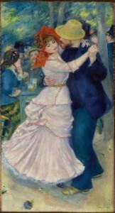 Dance at Bougival, Renoir - MFA Boston