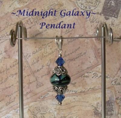 'Midnight Galaxy' Pendant