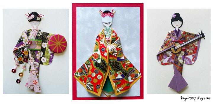 origami pliage papier kimono - YouTube | 351x720