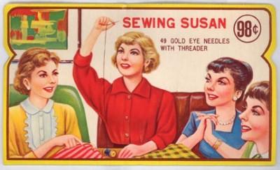 sewing kit card