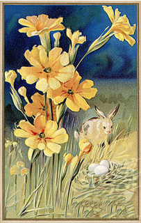 BunnyYellowFlowers