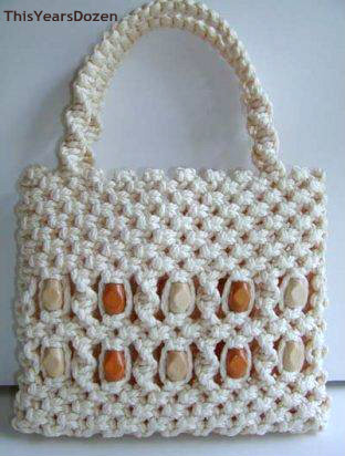 One of Donna's Macrame Purses