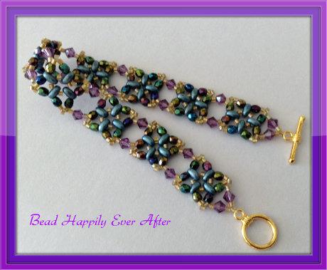 Z Beaded Bracelet Twin Beads