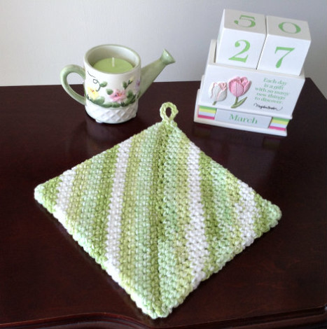 Z Potholder Greens